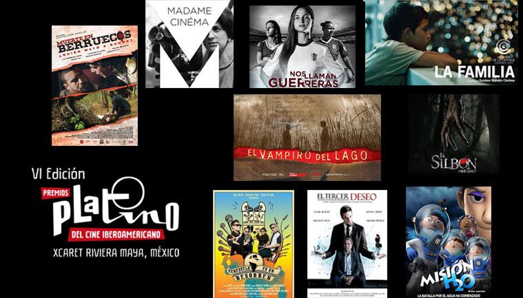 Películas venezolanas preseleccionadas en los Premios Platino 2019